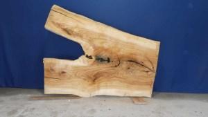 Tischplatte aus Massivholz Esche C/W 010