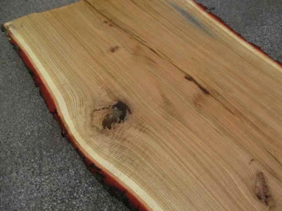 Unbearbeitete Tischplatten aus Eiche