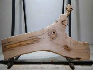 Tischplatte aus Massivholz Esche C/W 094
