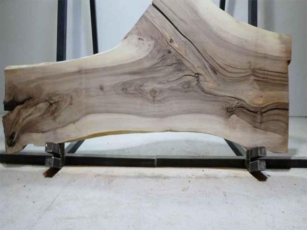 Tischplatte aus Massivholz Nussbaum C/W 097