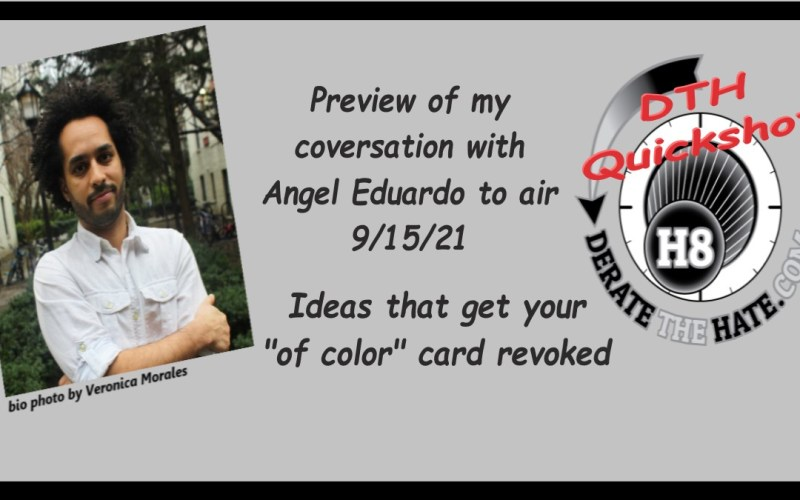 """DTH Quickshot Preview Clip of Ideas that get your """"of color"""" card revoked"""