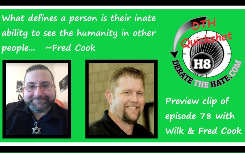 Wilk sits down with Fred Cook, Former NSM radical converted to Judaism