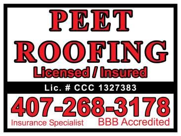 Peet Roofing- Jockey