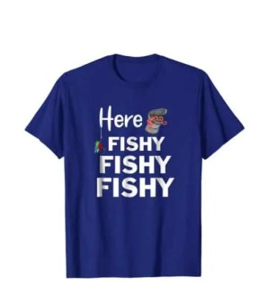Fishing t-shirt for father
