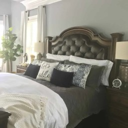 Fall Home Tour, Fall, Autumn, Harvest Home, Pumpkins, Leaves, October, Home Decor, master bedroom