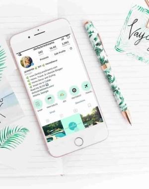 30 gratis instagramhistorikhöjdslock och ikoner