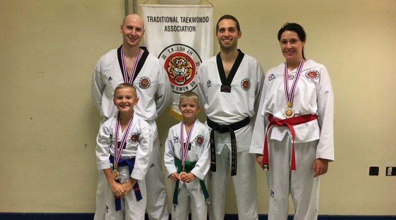 TTA Derby Competitors with medals