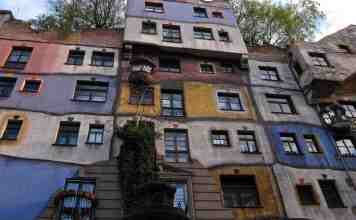 Hundertwasser-Haus 2014; 出典: |flickr/Su—-May CC BY 2.0| https://flic.kr/p/bPJQev