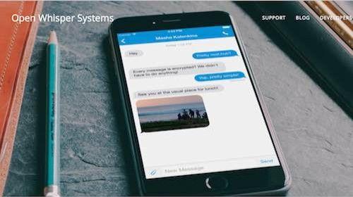 """Signal: el """"WhatsApp"""" de Snowden."""