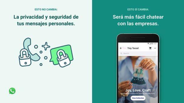 política de privacidad de WhatsApp