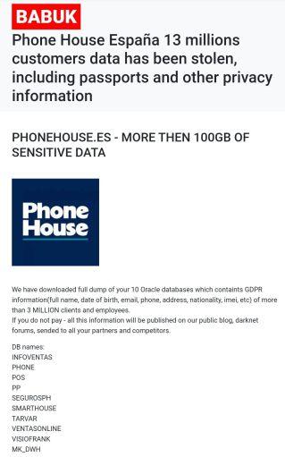 Phone House España