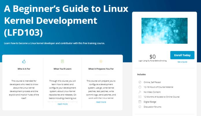 Curso gratis de la Fundación Linux