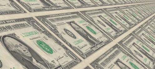 fajos de billetes de dolar