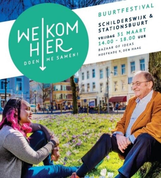 Welkom Hier Stationsbuurt Schilderswijk Bazaar of Ideas Pakhuis de Regah Pakhuis de Reiger Pakhuis de Zwijger in Den Haag