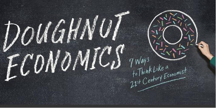 Doughnut Economics Donut Economie met Kate Raworth lezing Provinciehuis Zuid-Holland Den Haag ism Pakhuis de Regah Pakhuis de Reiger Pakhuis de Zwijger in Den Haag Edgar Neo