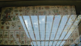 Codex Borbonicus azteca en la Biblioteca de la Asamblea