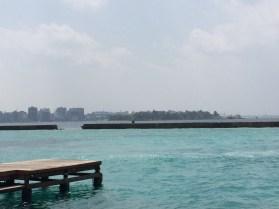 Vista de Malé, la capital