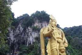 Kartikeya o Murungan, el Dios de la guerra hinduismo Cuevas Batu Malasia