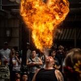 Fire Breather at Ottawa Busker Festival