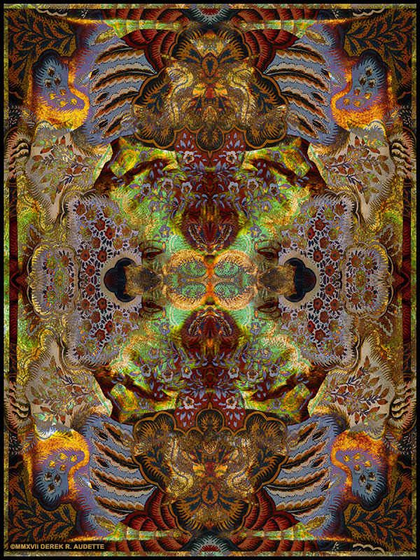 """Tanzbar"" - Abstract digital art by Derek R. Audette"