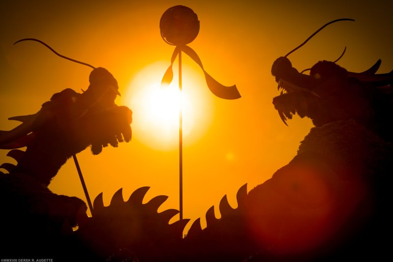 MosaiCanada 150 Dragons