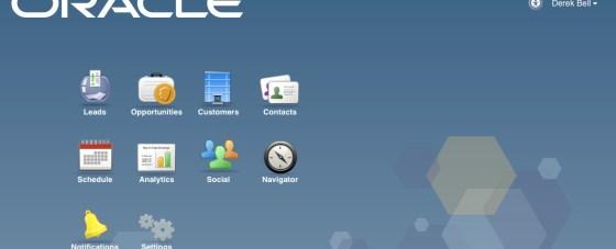 Sales Cloud Home Screen