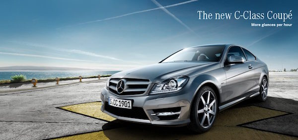 The New C Class Coupe 600x282pxl
