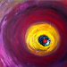 Eye of The Whale Painting by Derek Dodds