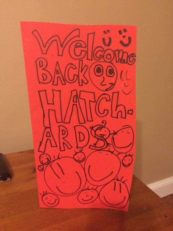 Welcome Back, Hatchards