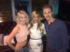 Derek and Julianne with Anita Roman from Fox10 in Phoenix, Arizona - June 11, 2015 Courtesy: ANITAROMANFOX10 twitter