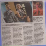 Post and Courier continuation of lead article of weekly entertainment section, Charleston, SC Courtesy: Charleston Scene