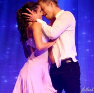 """One of my favorite numbers of the show. Derek Hough and Hayley Erbert dance to ""Thinking Out Loud""."" - Nashville, Tennessee - July 26, 2015 Courtesy heyjoheyyo IG"