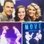 """Meeting Derek and Julianne Hough was easily the best thing that has ever happened to me!"" - Boise, Idaho - August 1, 2015 Courtesy haileycourtney IG"