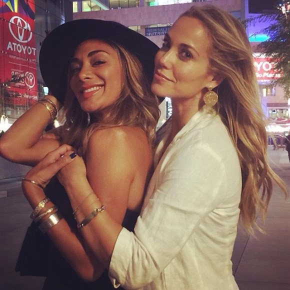 """Dancing in the streets post Move Live on Tour with this gorgeous creature! We were inspired by Julianne and Derke Hough! Such a joy!!!!"" - Los Angeles, California - August 7, 2015 Courtesy: elizberkley IG"