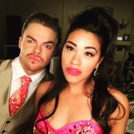 """""""You elevated our show with your supreme talent. I am forever grateful friend ❤️. @derekhough #JaneTheVirgin loves u!"""" - March 23, 2016 Courtesy HereIsGina twitter"""