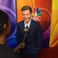 """""""Having fun with #DerekHough at #nbc #tcas"""" - August 2, 2016 Courtesy hiphollywood IG"""