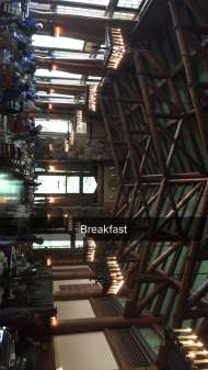 """Breakfast"" - August 6, 2016 Courtesy Derek Hough snapchat"