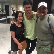 """OMG I JUST MET DEREK HOUGH!!! 😱😱😱He was soo sweet!!! He smiled at me!!! Such an AMAZING dude!❤️❤️❤️ @derekhough #happy#thanksdinah"" - September 9, 2016 Courtesy jenny_rodriguez23 IG"