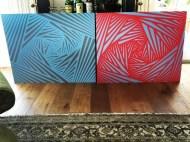 """More doodles during my down time #art #patterns #tape #zen"" - October 9, 2016 Courtesy derekhough IG"