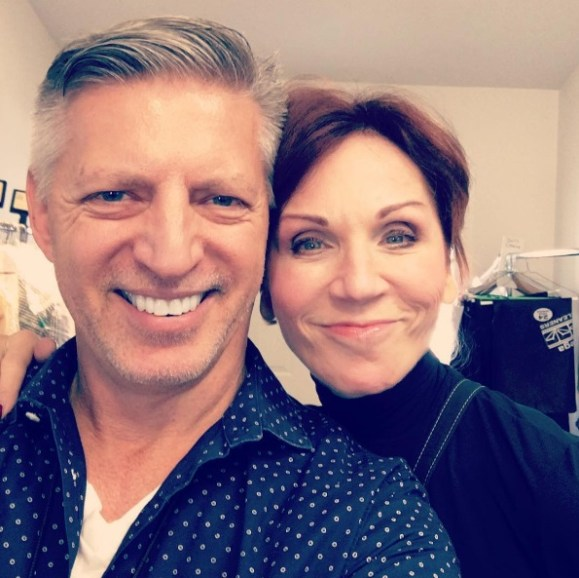 """""""Working together again with the cute @therealmarilu #EveningShade #DWTS23 #MariluHenner #SoMuchFun"""" - September 29, 2016 Courtesy ericjayvw IG"""