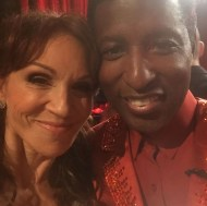 """""""My buddy @babyface Love him! We are bonded forever!!!! #DWTS"""" - October 4, 2016 Courtesy therealmarilu IG"""