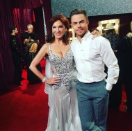 """Can you tell @derekhough & I are excited for our Viennese Waltz? #ILoveDWTS"" - October 10, 2016 Courtesy therealmarilu IG"