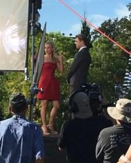 """@juleshough and @derekhough in action filming in Disney World!!!! #pinkshirtgirl #derekhough #juliannehough #disneyworld #pinkshirtgirl"" - November 12, 2016 Courtesy cldancer IG"