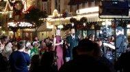 """So this is happening right now at #WaltDisneyWorld @juliannehough and @derekhough #disneyholidays #FloridaLife #ChristmasIsComing"" - November 12, 2016 Courtesy kevinseaslagoon twitter"