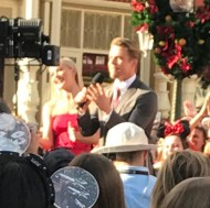 """""""When you wander into Disney and are greeted with this beautiful face! #hesmyfave #derekhough #seeingcelebseverywhere"""" - November 12, 2016 Courtesy nolecountrygirl IG"""