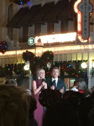 """""""Idk what's happening but Julianne and Derek Hough are at Magic Kingdom right now"""" - November 12, 2016 Courtesy witchhplease twitter"""