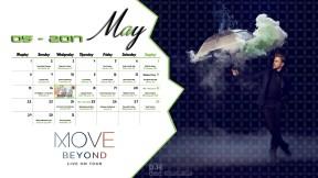 Derek Hough Calendar 2017 - May