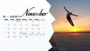 Derek Hough Calendar 2017 - November