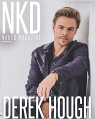 """Pleasure being on the cover of @nkdmag December issue. One of the easiest shoots I've ever been a part of. You guys are great! Link in bio 👇🏼#cover #magazine #nkd #dwts #worldofdance #hairspraylive #naked #butnotnaked #shouldIBeNaked? #livewithpassion #TodayIAm"" - December 2, 2016 Courtesy derekhough IG"