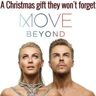 """Few days away from Christmas. 🎄🎉If you're looking for a last minute Christmas gift that will get you MOVIN, go grab tickets for our brand new Live show MOVE-BEYOND ! Come hang out with us with VIP tickets. Are you ready to MOVE?"" - December 23, 2016 Courtesy derekhough IG"